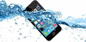 水没していくiPhone