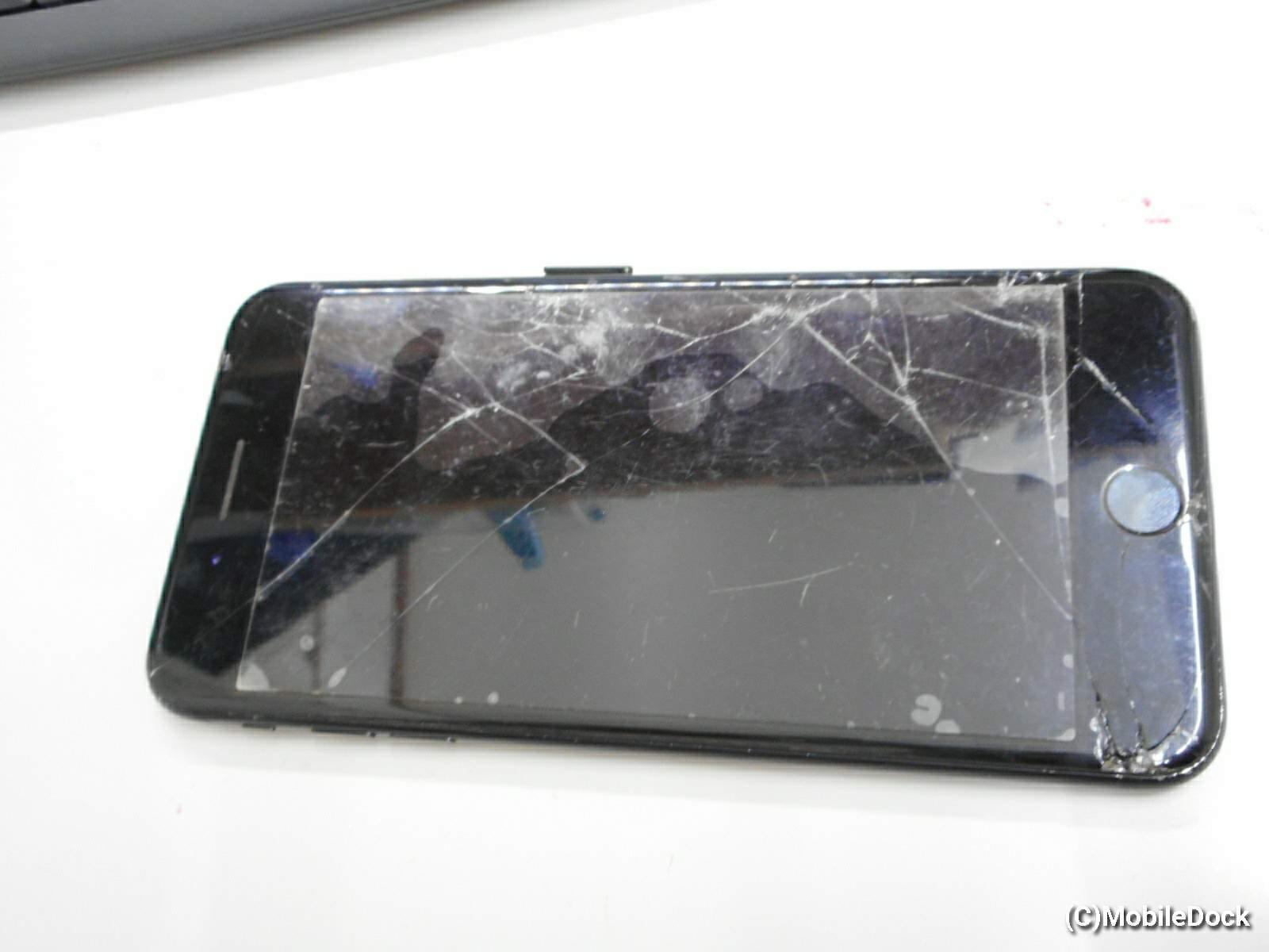 水没したiPhone7plus
