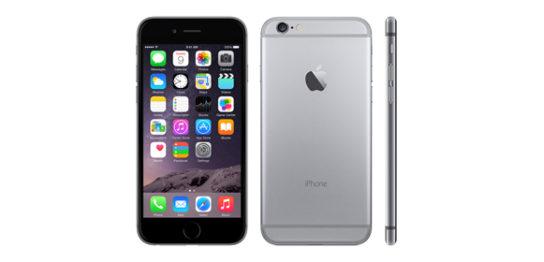 iPhone6のHOME画面