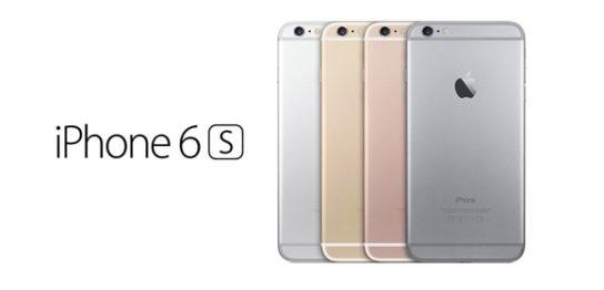 iPhone6sの各色