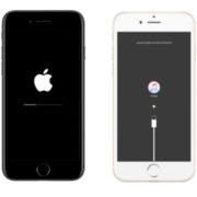 iPhoneのリカバリー画面とiTunes