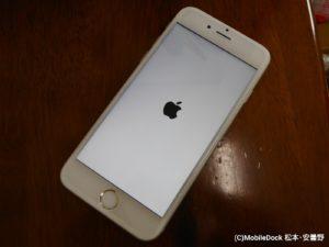 修理が終わり綺麗になったiPhone