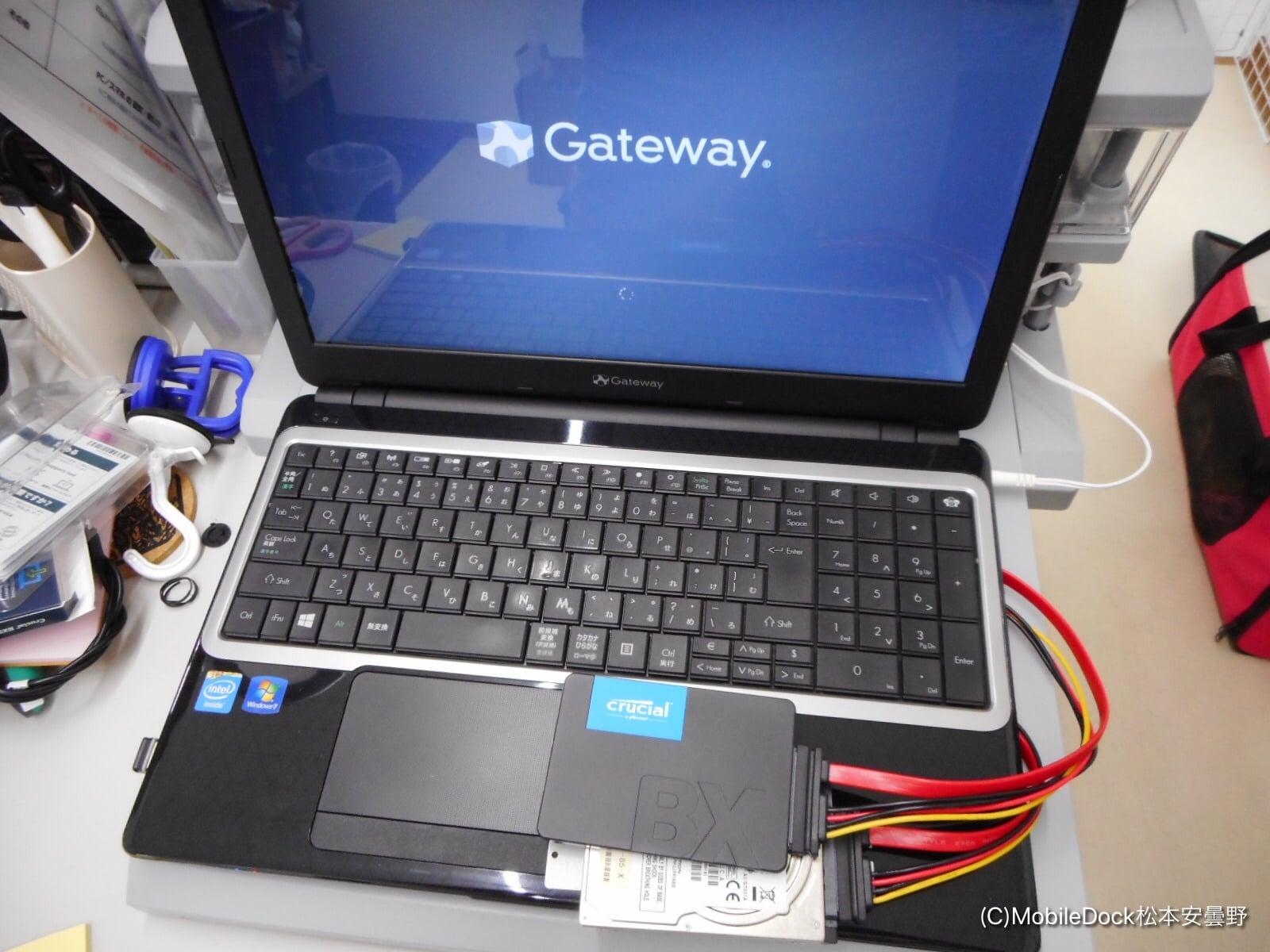 SSDクローン専用ノートパソコン