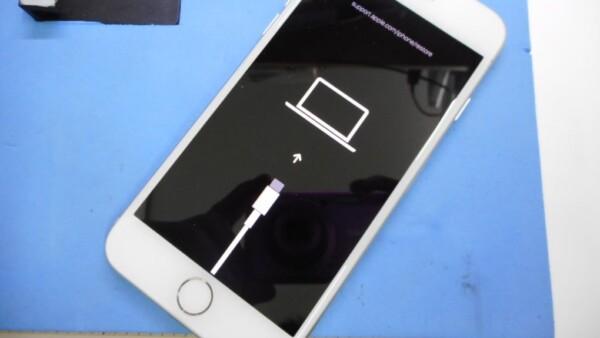 iPhone8の水没・リンゴループ